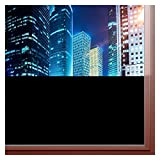 BDF BLKT Window Film Blackout Privacy (36' x 6Ft)