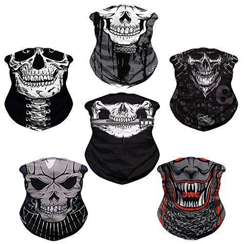 JOEYOUNG Headwear, Bandana Neck Gaiter Face Cover Mask Scarf Balaclava