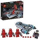 LEGO 75266 StarWars CoffretdeBatailleSithTroopers, avec Battle Speeder...