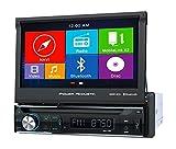 Power Acoustik 7 1DIN GPS Receiver W/Bluetooth PDN 726B