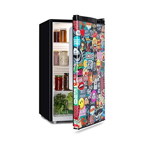 KLARSTEIN Cool Vibe - Friforifero, Classe Energetica A+, Volume: 90 L, VividArt Concept: Porta con...