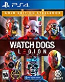 Watch Dogs: Legion PlayStation 4 Gold Steelbook Edition with free upgrade to the digital PS5 version (DVD)