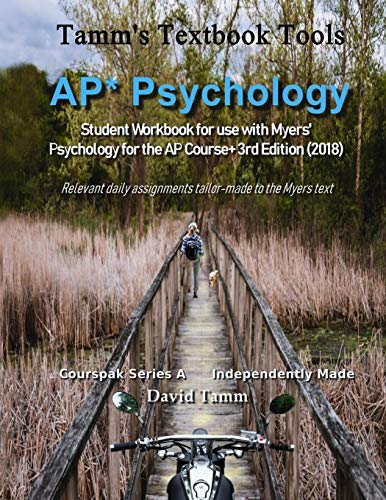 AP* Psychology Student Workbook for use with Myers'...