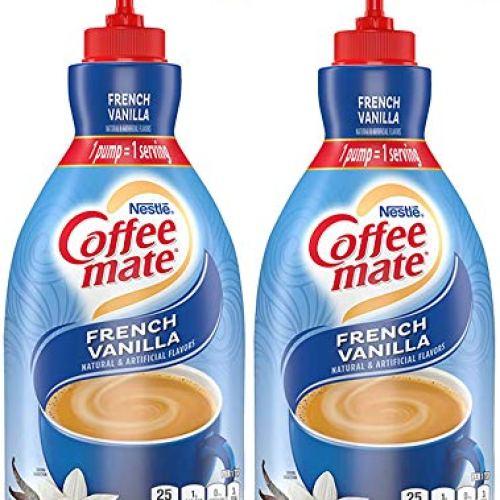 Nestle Coffee Creamer, French Vanilla - 50.7 Fl. Oz (Pack of 2)