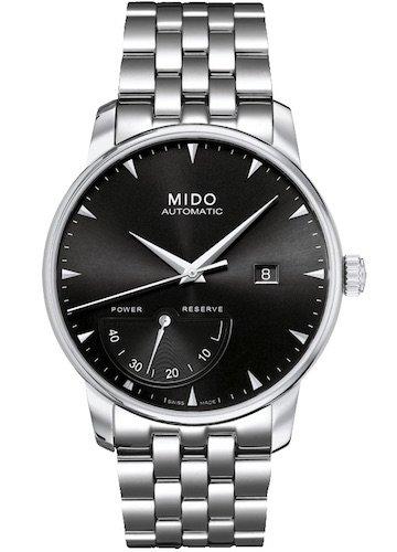 Mido Herren Analog Automatik Uhr mit Edelstahl Armband M86054181