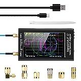 Upgraded NanoVNA-F V2 Vector Network Analyzer 50kHz-3000MHz HF VHF UHF VNA Antenna Analyzer 4.3 inch with 5000mAh,Measuring S-Parameter Voltage SWR, Phase, delay, Smith Chart