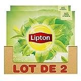 Lipton Thé Vert Classique, Label Rainforest Alliance 100 Sachets (Lot de 2x50 Sachets)