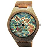 Hawaiian Picture Wood Watches...
