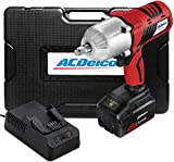 """ACDelco ARI20170-M P20 Series 20V Cordless Li-ion 1/2"""" 1,260 ft-lbs. Heavy Duty Impact Wrench Tool Kit with Carrying Case"""