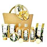 Spa Luxetique Coffret Cadeau pour les Femmes, 10 PC Coffret de Bain, Parfum de Vanille, Crème pour les Mains, Cadeau d'Anniversaire