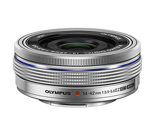 OLYMPUS 電動式パンケーキズームレンズ M.ZUIKO DIGITAL ED 14-42mm F3.5-5.6 EZ SLV