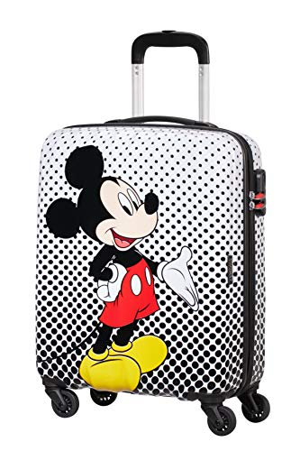 American Tourister Disney Legends Spinner S Valigia per bambini, 55 cm, 36 L, Multicolore (Mickey...
