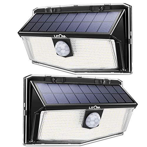 300 LED Luci Solari Esterno,Nuovo design nel 2020Luce Solare con Sensore di Movimento,...