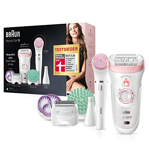Braun Silk-épil Beauty-Set 9 9-995 Deluxe 9-in-1 Kabellose Wet&Dry...