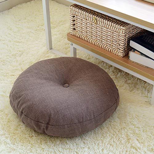 Cuscino Soffice da Pavimento Divano, Morbuy Accogliente Thick Rotondo Meditazione Cuscino da Terra...