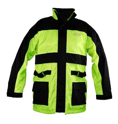 Vega Rain Jacket (Hi-Visibility Yellow, XX-Large)