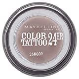 Maybelline Color Tattoo 40 Permanent Taupe - sombras de ojos (Marrón, Permanent Taupe, Italia)