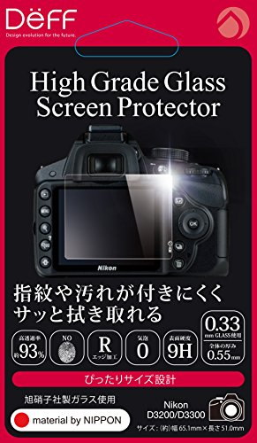 Deff High Grade Glass Screen Protector for Nikon D3300 DPG-NID3300
