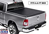 Gator ETX Soft Roll Up Truck Bed Tonneau Cover | 1386954 | Fits 2019 - 2020 New Body Style Ram 1500 (New Body Style) Does Not Fit With Multi-Function (Split) Tailgate 6'4' Bed Bed | Made in the USA