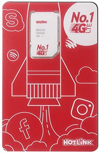 マレーシア MAXIS プリペイドSIMカード 8GB(通話込)/月 マレーシア国内どこでもご利用いただけます