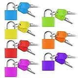 Chudian 7 pièce Mini Cadenas, Multicolore Cadenas Valise avec 2 Clé pour...