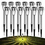 AlJoLife 12Pack Solar...image