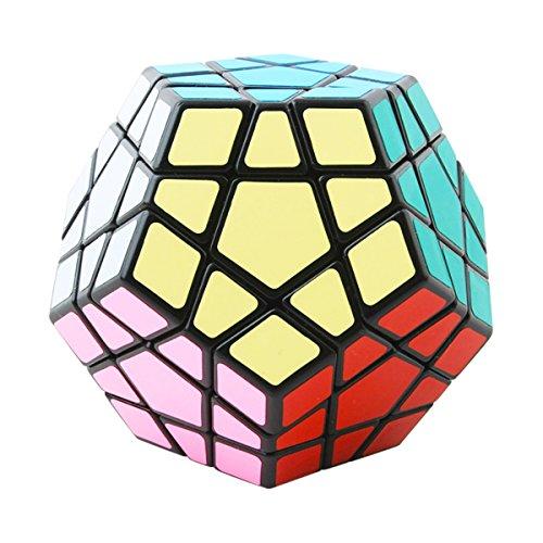 COOJA Megaminx Cubo Mágico, Dodecaedro Cube 3x3, Velocidad Rompecabeza Cubos con Easy Turning