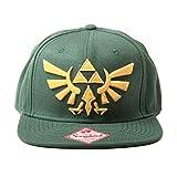 Figurine Zelda - Casquette Snapback - Green With Golden Logo