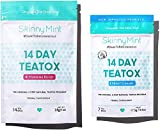 SkinnyMint 14 Day Ultimate Teatox Detox Tea. All Natural Cleanse for Weight Loss. Great Tasting Tea- Boosts Energy and Reduces Bloating