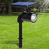 Lampe Solaire Extérieur Ultra Puissante Détecteur de Mouvement 4 Modes,...