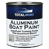 TotalBoat Aluminum Boat Paint (Light Gray, Quart)