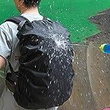 Youcan Raincover Waterproof Backpack Rain Cover, Rainproof Snowproof Dustproof Ultralight Covers to Protect Outdoor, Laptop, or School Bag,Black 35L