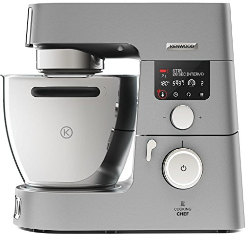 Kenwood KCC9068S Cooking Chef Gourmet - Impastatrice, 1500 W, 6.7 Lt.