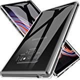 LK Case for Galaxy Note 9, Ultra [Slim Thin] Scratch Resistant TPU Rubber Soft Skin Silicone Protective Case Cover for Samsung Galaxy Note 9 (Clear)