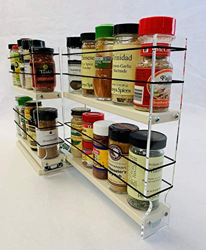 Vertical Spice - 22x2x11 DC - Spice Rack - Narrow Space w/2...