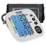 Vive Precision Blood Pressure Machine - Heart Rate Monitor - Automatic BPM Sphygmomanometer Heartbeat...