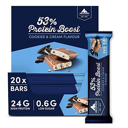 Multipower 53% Protein Boost – 20 x 45 g Protein...