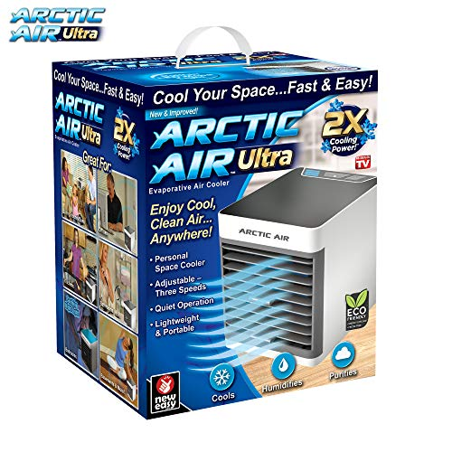 Ontel Arctic Ultra Seen On TV | Evaporative Portable Air Conditioner | Personal Space Cooler |
