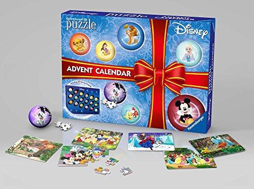 Ravensburger Italy Other Calendario dell'Avvento Disney Classic Puzzle 3D, 11676