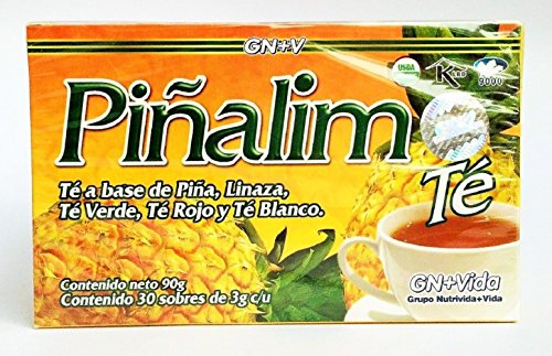 2 Pack Te Pinalim Tea GN+Vida Weight Loss Tea Diet 4