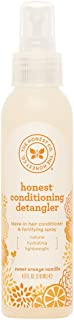 The Honest Company Sweet Orange Vanilla Conditioning Detangler Spray  Lightweight..