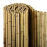 casa pura Brise Vue Bambou - 100% Bambou Naturel | Pare-Vue Clôture de...