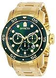 Invicta 0075 Pro Diver - Scuba Montre Homme acier inoxydable Quartz Cadran...