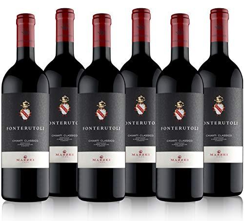 Mazzei - Castello di Fonterutoli - Fonterutoli 2018 - Vino Rosso Chianti Classico DOCG - Cassa da Sei Bottiglie