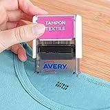 AVERY - Tampon Textile Résistant au Lavage