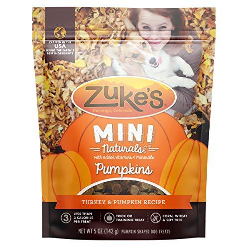 Zuke's Mini Naturals Pumpkins Training Dog Treats...