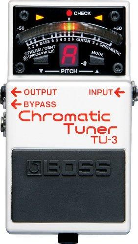 BOSS TU-3 Chromatic Tuner Guitar Pedal