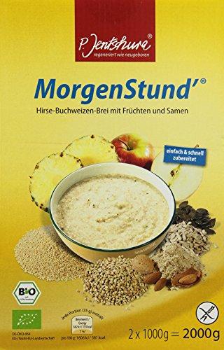 Dr. Jentschura Morgenstund Bio, Hirse-Buchweizen-Brei, 2000g (DE-ÖKO-064)