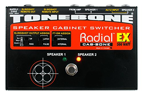 Tonebone Cabbone EX Guitar Effects Switcher - Black