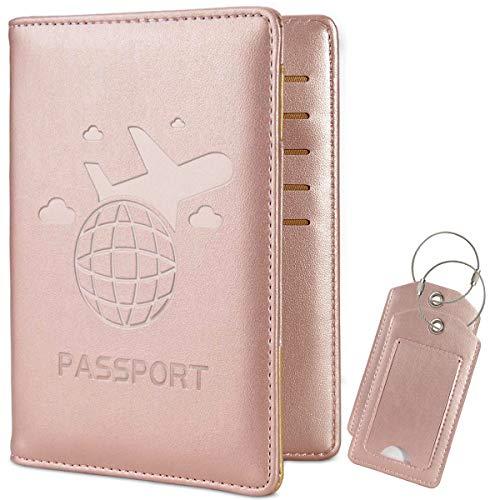 COCASE protège Passeport Housse, RFID Blocage Voyage Protecteur...